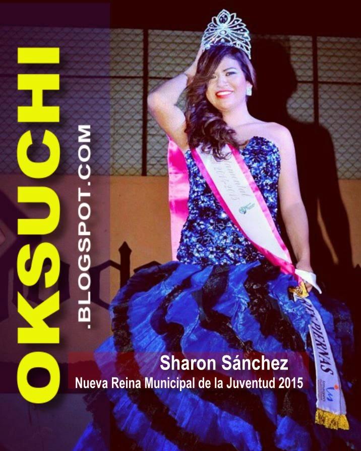 Sharon Sánchez, Reina Municipal de la Juventud 2015