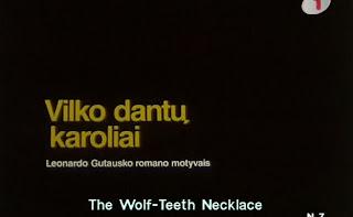 Ожерелье из волчьих зубов / Vilko Dantu Karoliai / A Wolf Teeth Necklace.