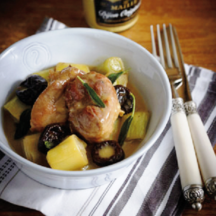 Mediterranean Diet, Pork with leeks and plums, The Cretan Diet,