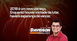 DAVIDSON MAGALHÃES LIDERANÇA REGIONAL E DEFENSOR DOS INTERESSES DO POVO