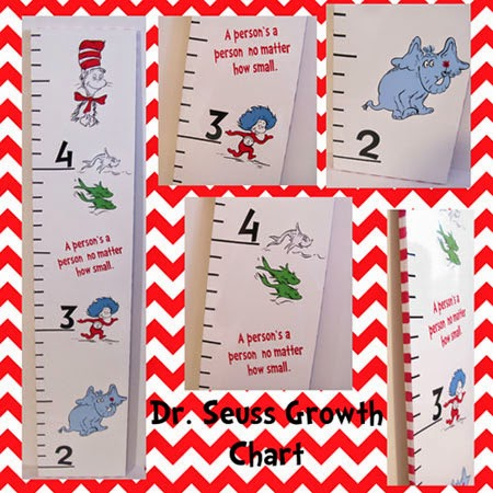 Dr. Seuss Growth Chart Purchase Growth Chart Here
