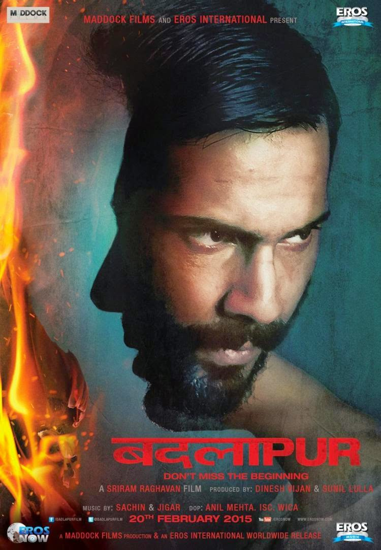 'Badlapur' First Look Ft Varun Dhawan