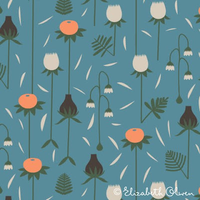 Floral Print Patterns In Blue Stock Images - Image: 2638304