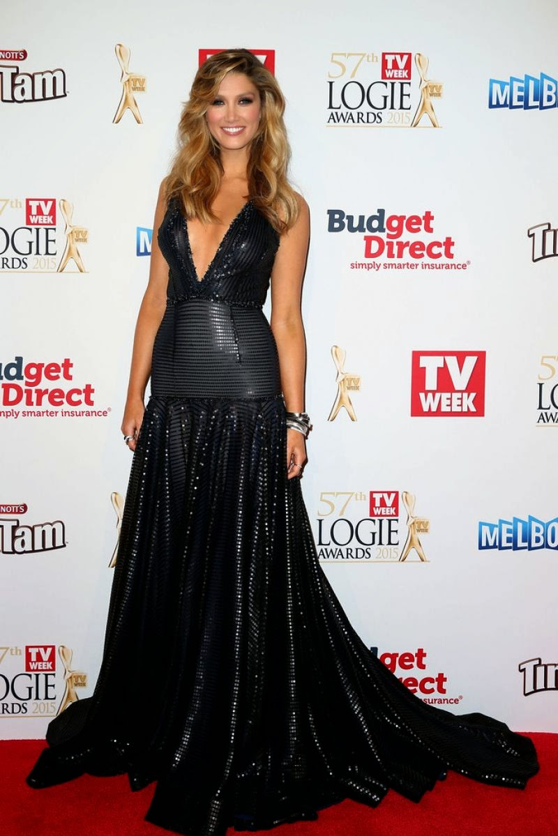 DELTA GOODREM at Logie Awards in Melbourne
