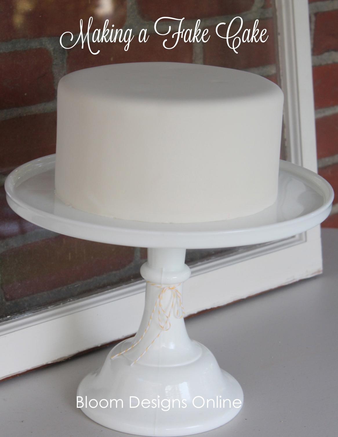 Fake Wedding Cake Layers