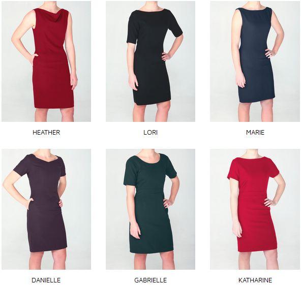 helen jean custom made dress collection