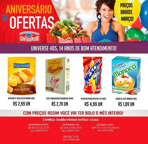 Supermercado Universe