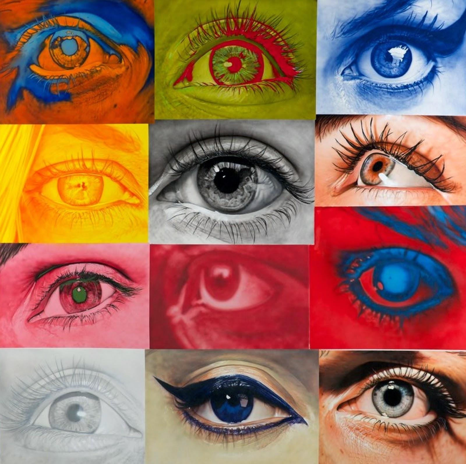 artisticas-pinturas en-acrilico-de-ojos