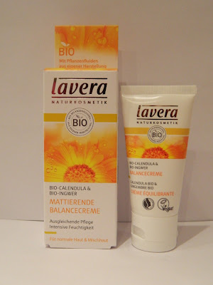 lavender star review lavera mattierende balancecreme bio ingwer bio calendula. Black Bedroom Furniture Sets. Home Design Ideas