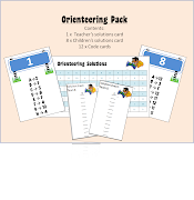 I'm giving away this orienteering pack to anybody who comments below to say . orienteering pack preview