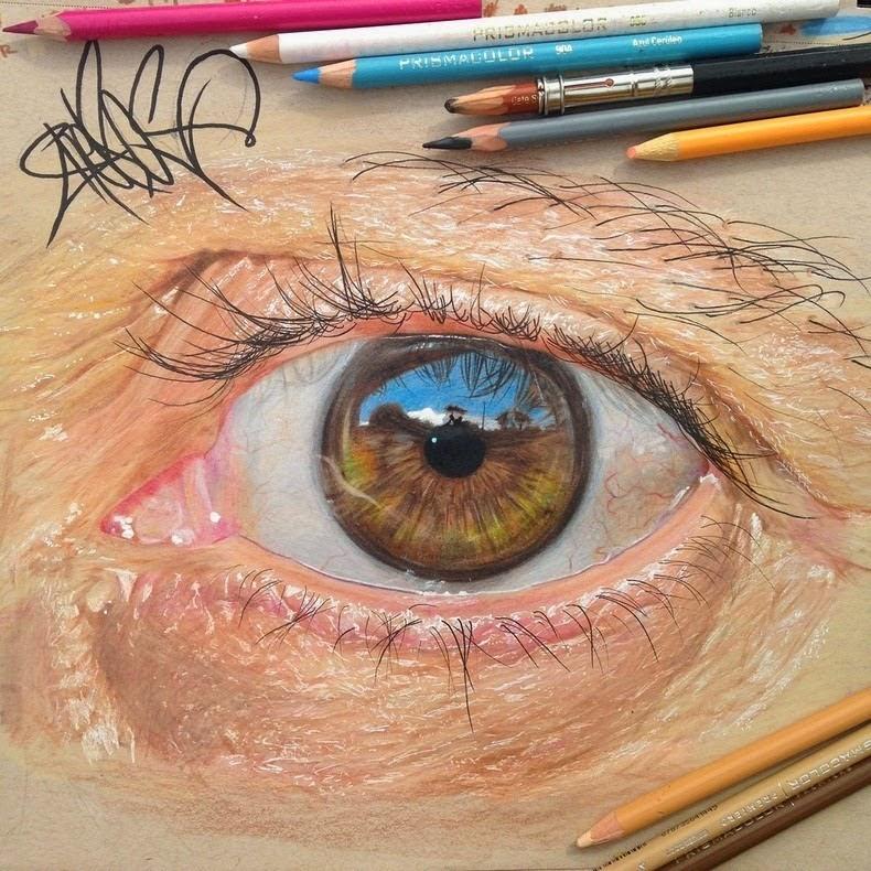 ojos surrealistas