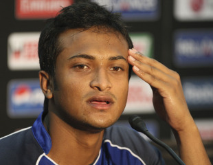 Shakib questions India's Test status !