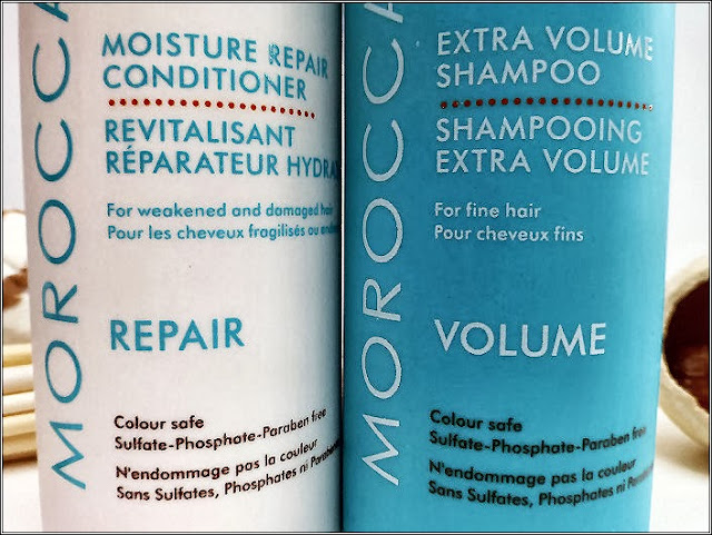 A picture of Moroccan Oil Shampoo and Conditioner