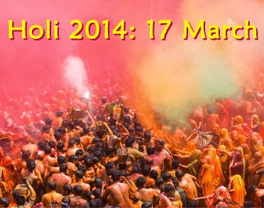 Best Holi Wallpaper for Holi Festival 2014