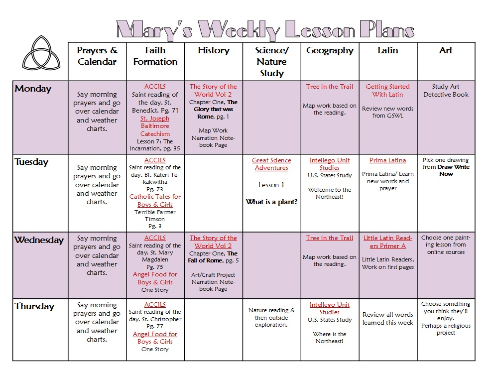 Best Catechism Lesson Plan Template Pictures Lesson Planning