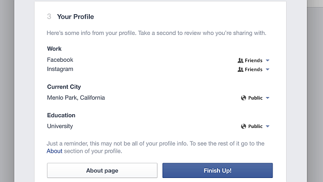 Privacy Check-up Tool To Protect Your Privacy On Facebook 4