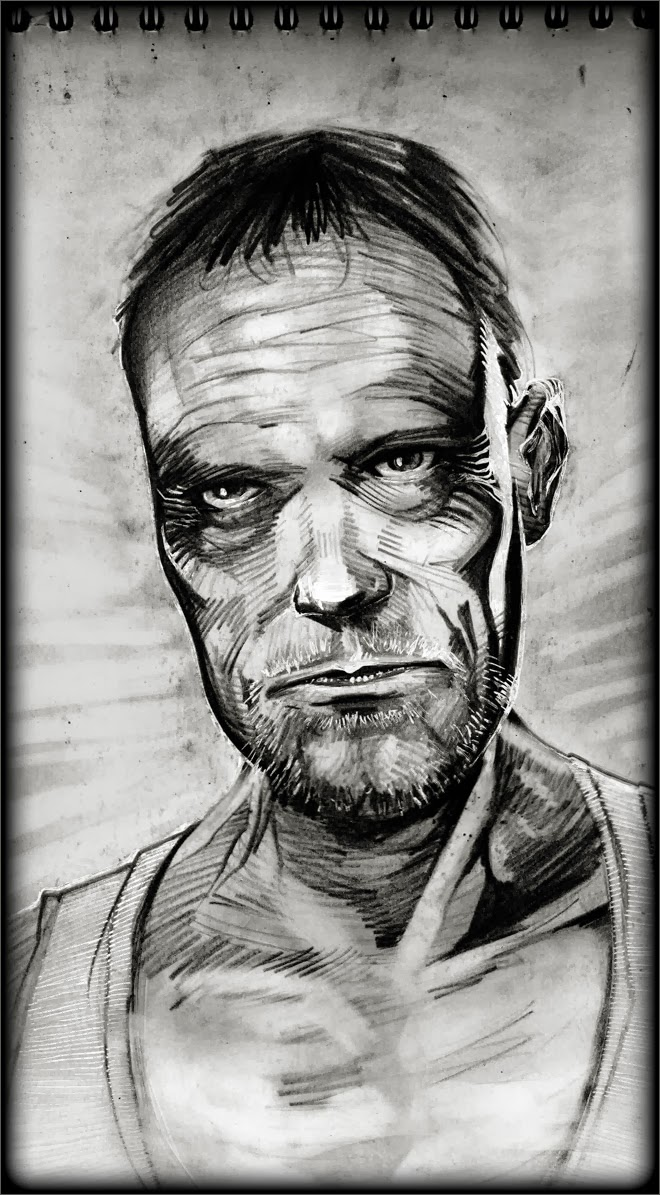 Michael Rooker by Regis Lagoeyte
