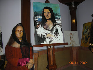 Mona lisa at Innovative Film city, Bangalore