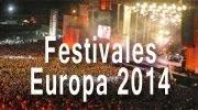 Mejores festivales rock Europa 2014