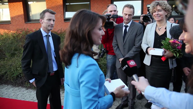 Princess Marie attends Danish Watchmaker School's celebrates