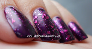LuminousLacquer.com - Beautifully Disney Nail Polish - Wickedly Beautiful Villains Collection - Just One Bite