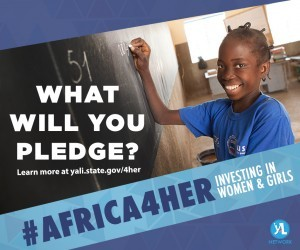 #Africa4Her 2016: Investing in Women & Girls