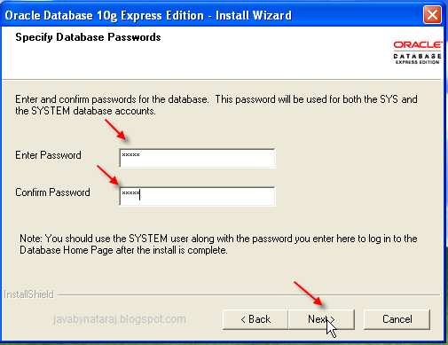 Installing Oracle Database 10g Express Edition_008