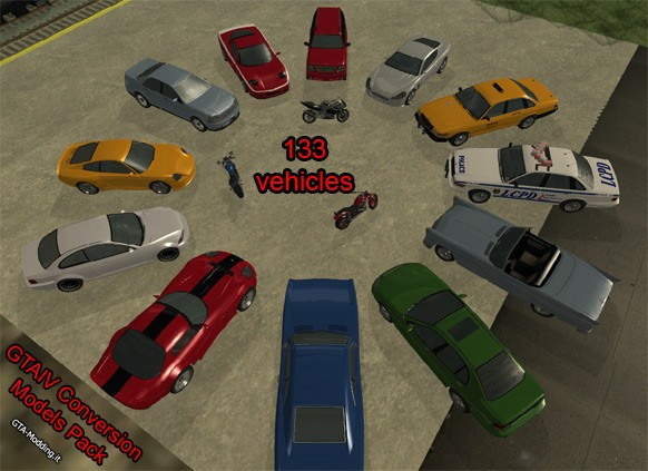 descargar mod de autos para gta san andreas