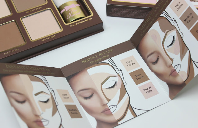 A picture of Too Faced Cocoa Contour Chiseled to Perfection Kit