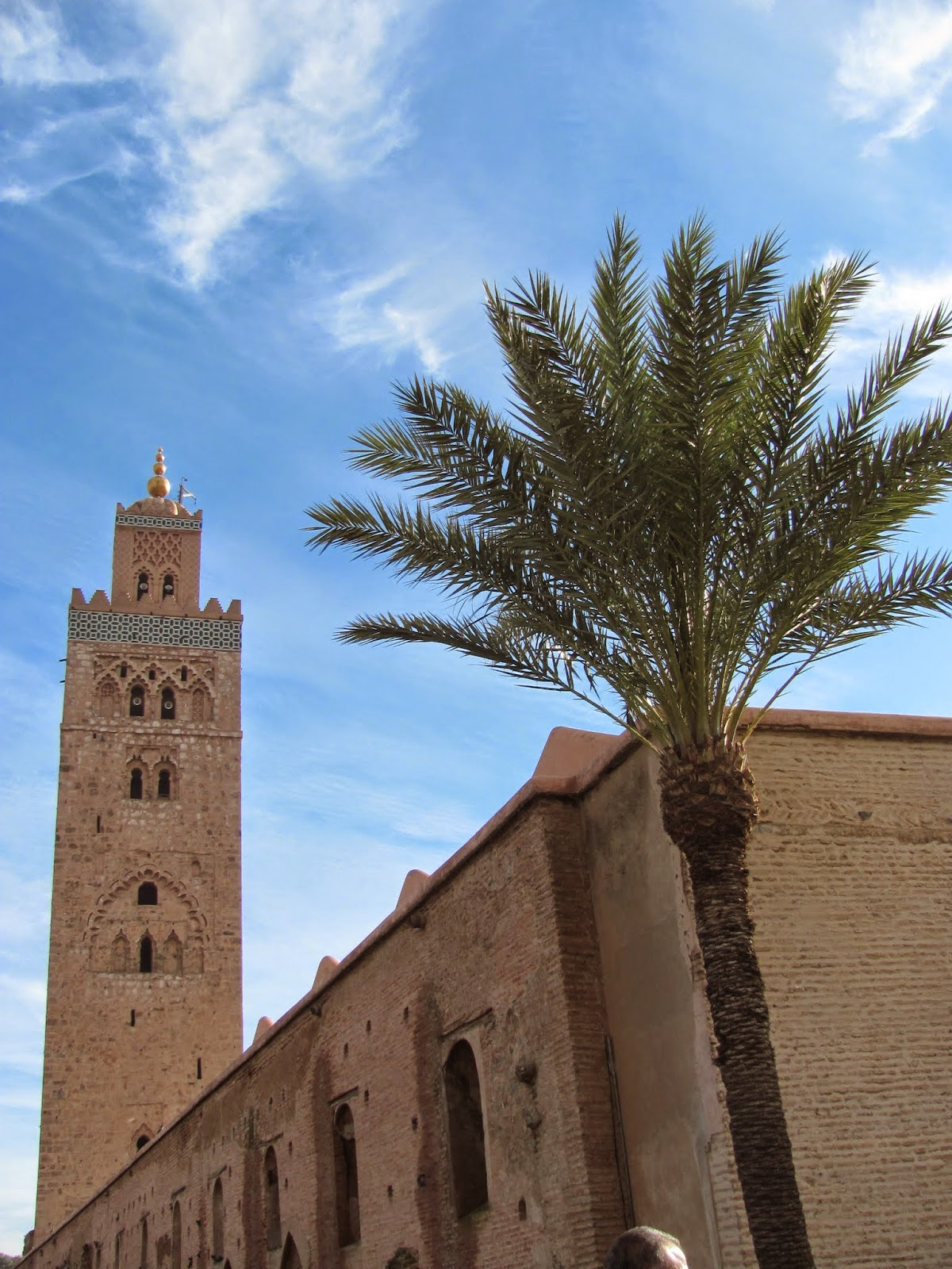 The Minaret of the Koutoubia Mosque Marrakech, Morocco