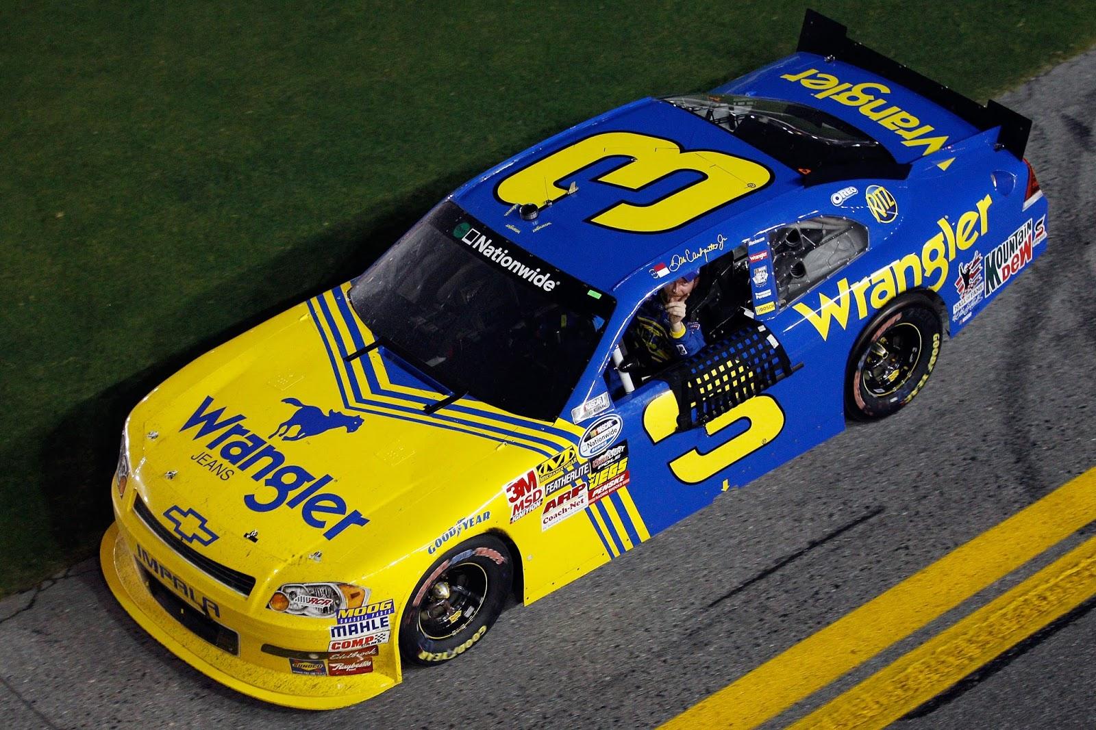 Dale Earnhardt Jr  Wrangler Car