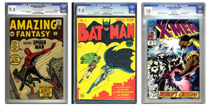 CGC Graded Comics images