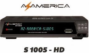 NOVA ATUALIZAÇÃO AZAMERICA S1005 HD V1.09.15583 - 30-01-2016