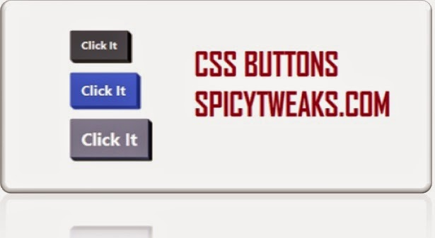 CSS Button for Links and Input Boxes