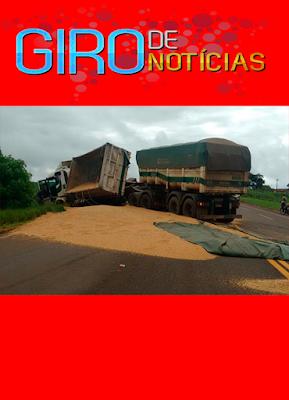 GIRO DE NOTÍCIAS CARRETA BI TREM TOMBA