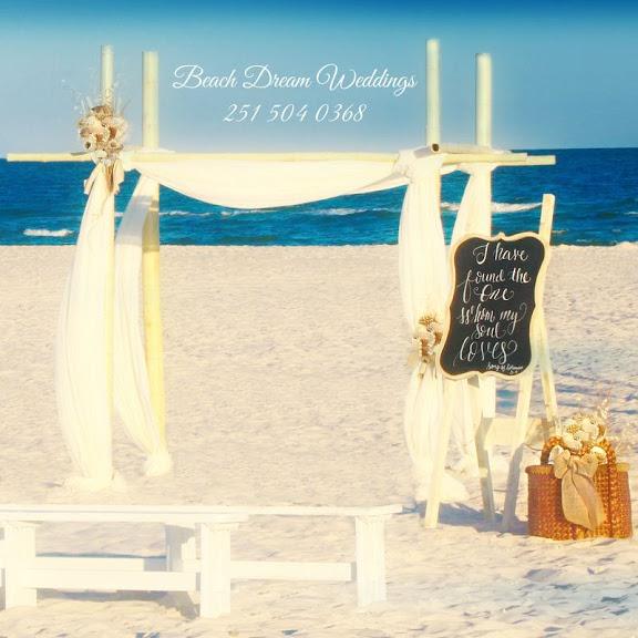 The One I Love Beach Wedding