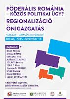 erdélyi autonomisták, Erdély, Románia, EMNP, EMNT, ActiveWatch, autonómia, föderalizmus, régiósítás,
