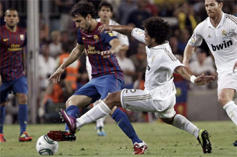 partido Supercopa 2011 Barça Real Madrid