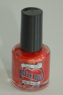 Moulin Rouge by Lovely. Kolorowe paznokcie nr 6.