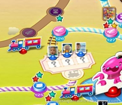 Candy Crush Saga train