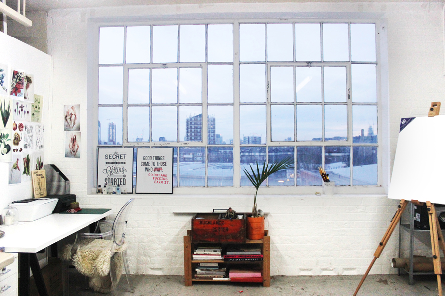 Jasiminne Yip's Bermondsey artist studio