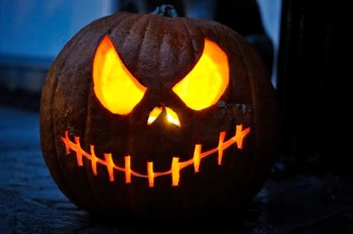 Evil Pumpkin Carving