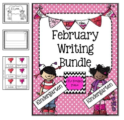 http://www.teacherspayteachers.com/Product/Valentine-Writing-Bundle-Kindergarten-467591