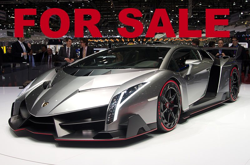One Of The Lamborghini Veneno S Is Up For Sale