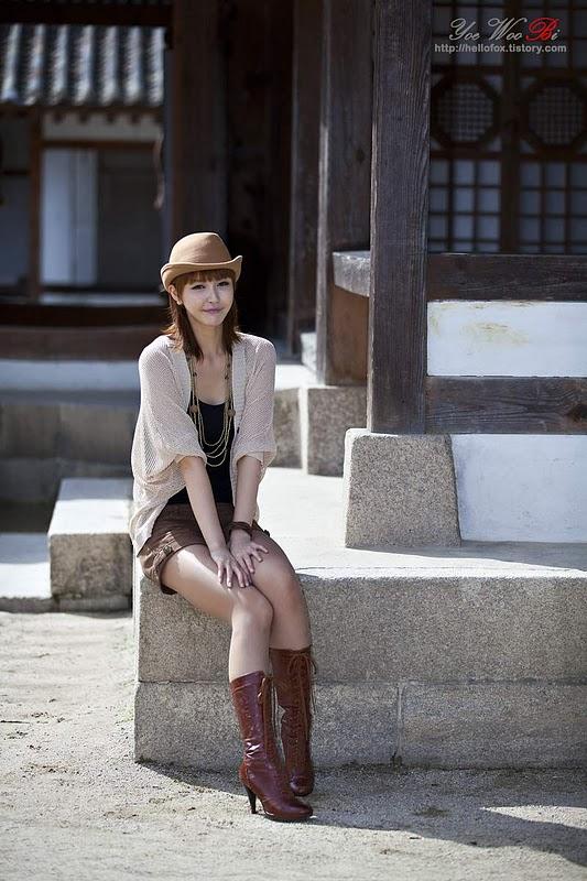 Kang Yui Sexy in Short