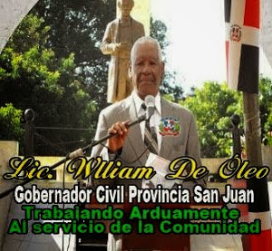 WILLIAM D, OLEO GOBERNADOR SAN JUAN