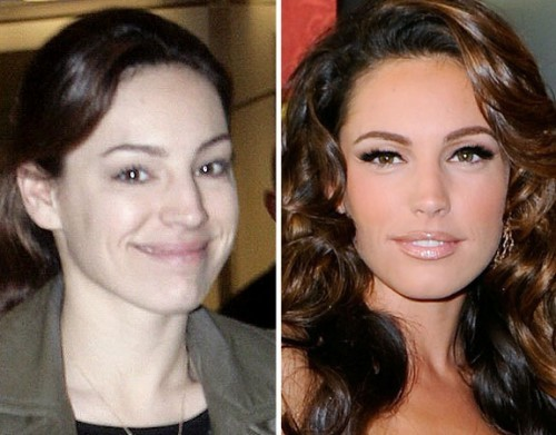 Kelly Brook sans maquillage