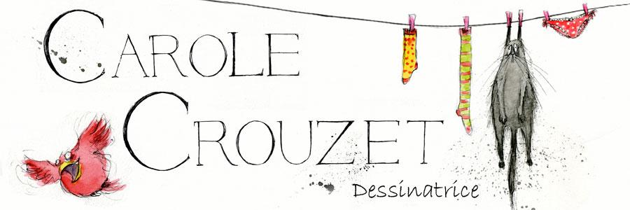 Carole Crouzet, Dessinatrice