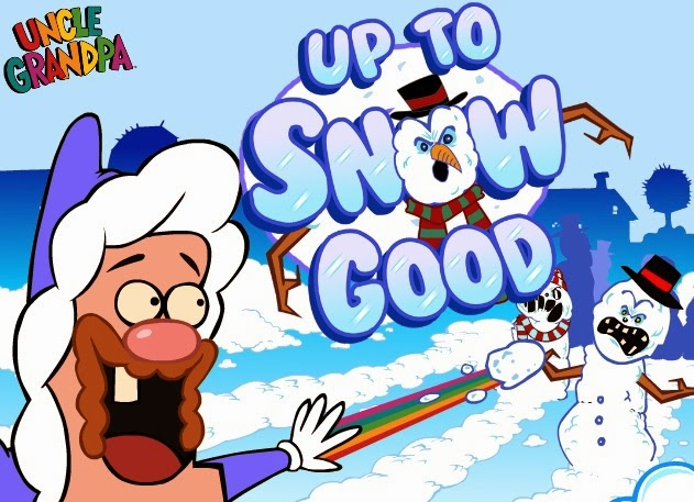 Juego Up To Snow Good de Tío Grandpa de Cartoon