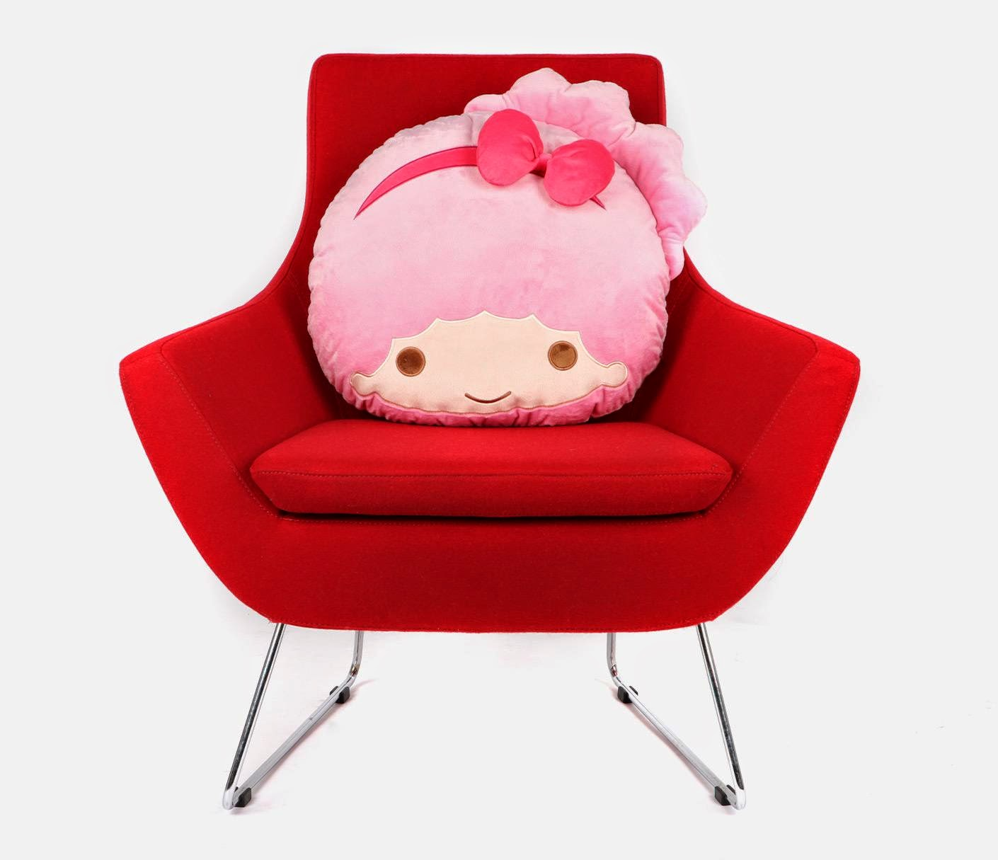 Sanrio character cushions Little Twin Stars: lala